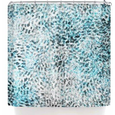 Li Zamperini Fashion Shower Curtain Color: Blue/Gray