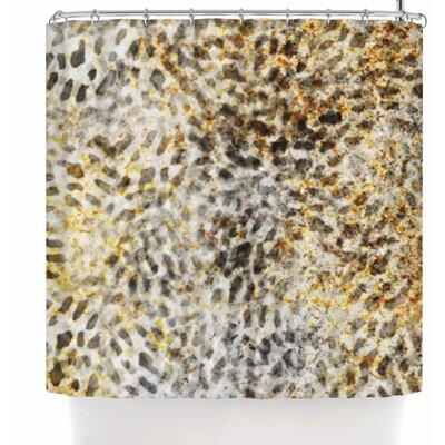 Li Zamperini Fashion Shower Curtain Color: Brown/Beige