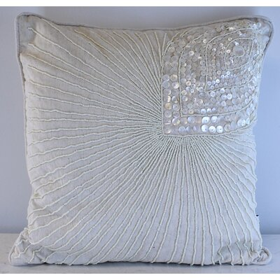 Joseline Pearl Peacock Throw Pillow