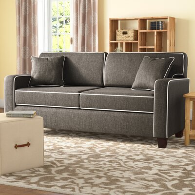 Abbot Sofa Upholstery: Charcoal
