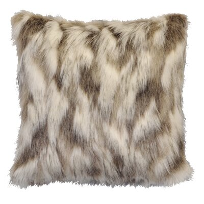 Pugh Tibetan Faux Fur Throw Pillow