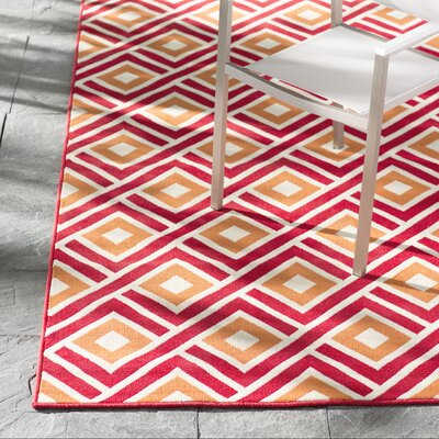 Rahul Hand-Woven Indoor/Outdoor Area Rug Rug Size: 86 x 13