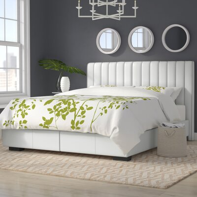 Cawley Upholstered Storage Panel Bed Size: Queen