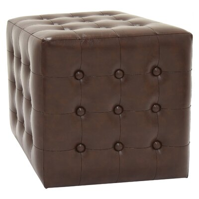 Byrnedale Ottoman Color: Brown