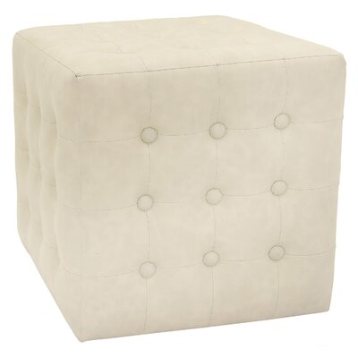 Byrnedale Ottoman Color: White