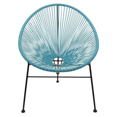 Gatlin Metal and Plastic Papasan Chair
