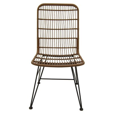 Trotman Metal and Plastic Side Chair