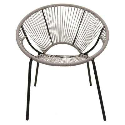 Trotta Metal and Plastic Papasan Chair