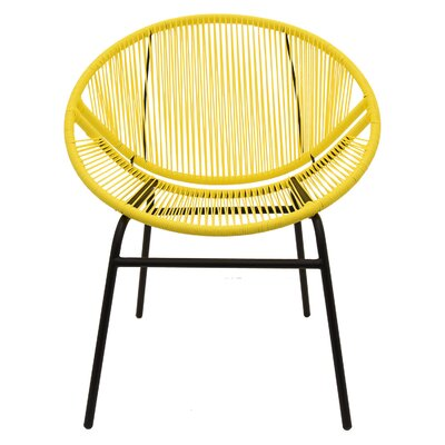 Trotwood Metal and Plastic Papasan Chair