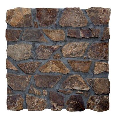 Castle Earth Loose Veneer Random Sized Natural Stone Tile Tile in Brown