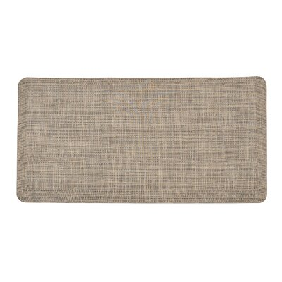 Harney Professional Design Comfort Kitchen Mat Color: Beige