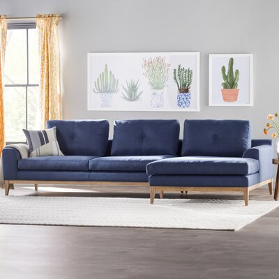 Caroline Modular Sectional Upholstery: Royal Blue