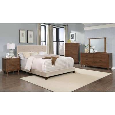Cleveland Platform 5 Piece Bedroom Set Size: King