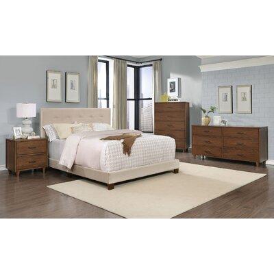 Cleveland Platform 4 Piece Bedroom Set Size: King