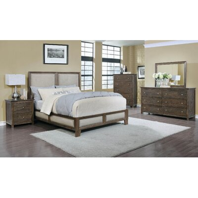 Loken Platform 5 Piece Bedroom Set Size: King