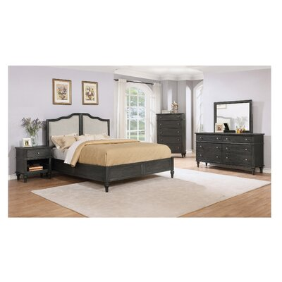 Lokey Platform 5 Piece Bedroom Set Size: Queen