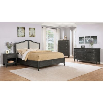 Lokey Platform 4 Piece Bedroom Set Size: King