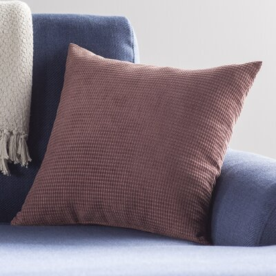 Kaylee Textured Woven Toss Throw Pillow Color: Earth
