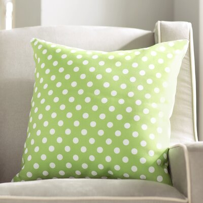 Derrick Indoor/Outdoor Throw Pillow Size: 18 H x 18 W x 3.5 D, Color: Green