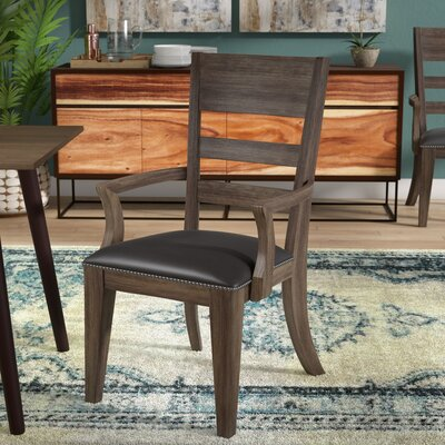 Fiorella Upholstered Wood Dining Chair (Set of 2)