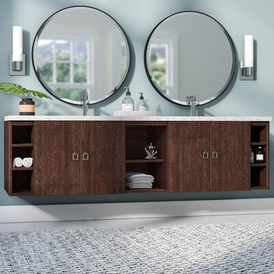 Hobbs 72 Double Bathroom Vanity