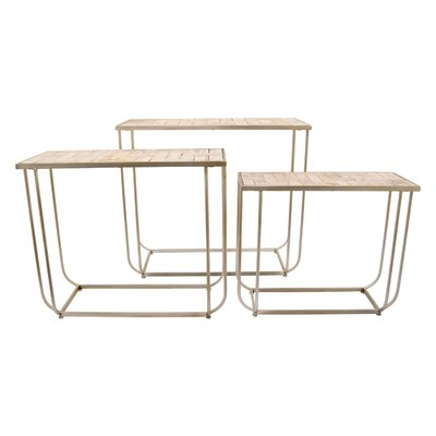Hellwig 3 Piece Nesting Tables