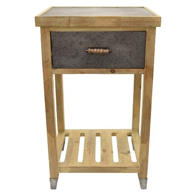Palethorp Wood End Table Size: 32 H x 19 W x 15.75 D