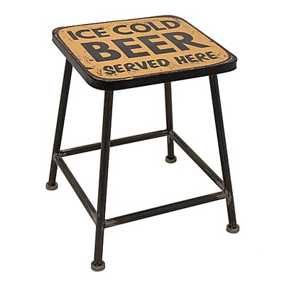 Mccomb Metal End Table