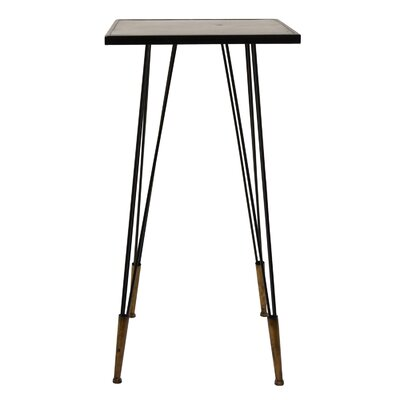 Ciotti Metal Accent End Table Color: Brown