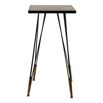 Ciotti Metal Accent End Table Color: Black