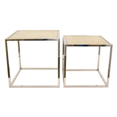 Hartsell 2 Piece Nesting Table