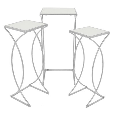 Jerimiah Metal 3 Piece Nesting Tables