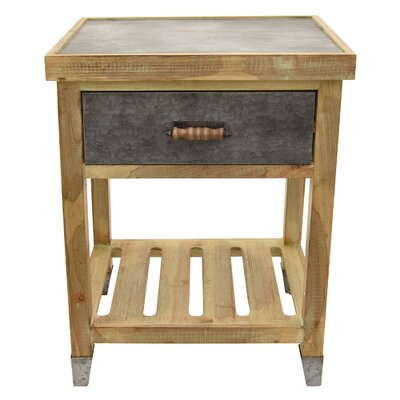 Palethorp Wood End Table Size: 24 H x 19 W x 15.75 D