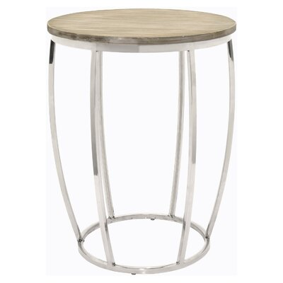 Hartman Metal and Wood End Table