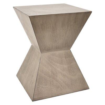 Hartshorn Wood End Table Color: Gray