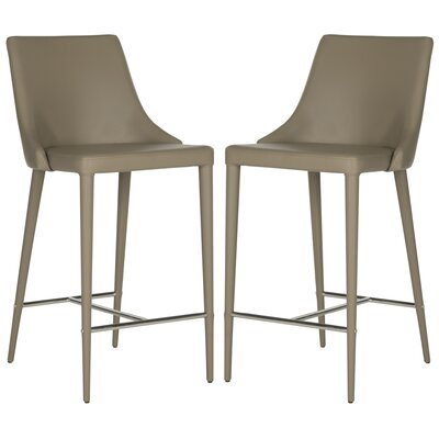 Sherwood 26 Bar Stool Upholstery: Taupe
