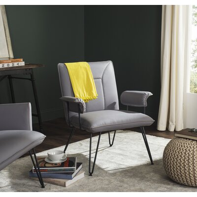Aphrodite Armchair Upholstery: Gray