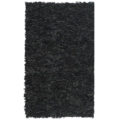 Carrol Black Area Rug Rug Size: Rectangle 5 x 8