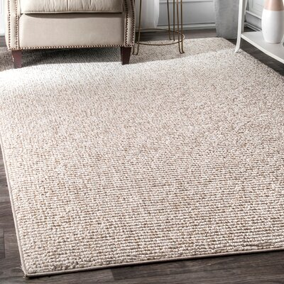 Hamil Beige Area Rug Rug Size: Rectangle 53 x 76