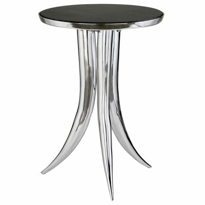 Hargraves End Table Color: Black