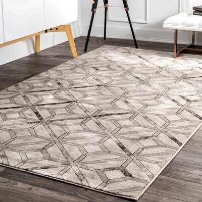 Candlewood Beige Area Rug Rug Size: Rectangle 5 x 8