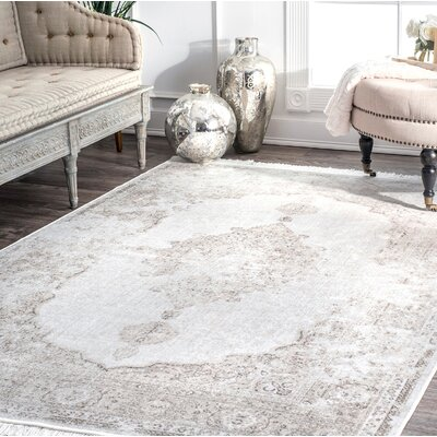 Centreville Ivory Area Rug Rug Size: Rectangle 4 x 6