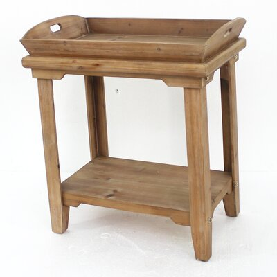 Abasi Wooden Tray Table