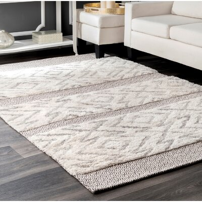 Lolley Gray Area Rug Rug Size: Runner 26 x 8