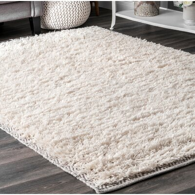 Lolotoe Ivory Area Rug Rug Size: Runner 26 x 8