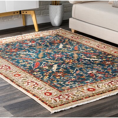 Durdham Park Blue Area Rug Rug Size: Rectangle 8 x 10