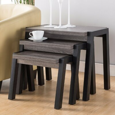 Busse Modern 3 Piece Nesting Tables
