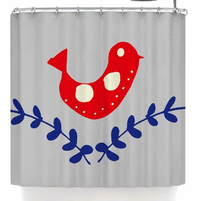 Bruxamagica Bird Shower Curtain
