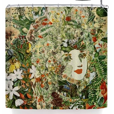 Stephanie Eden Lady Nature Shower Curtain