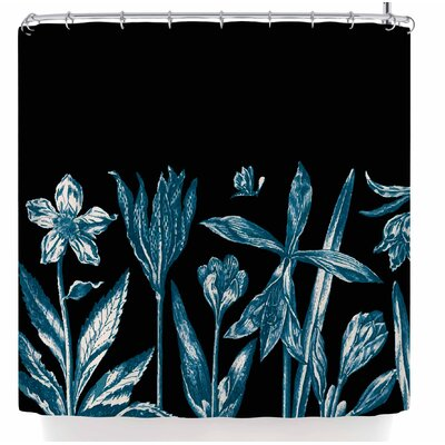 Stephanie Eden Romantic Garden Shower Curtain